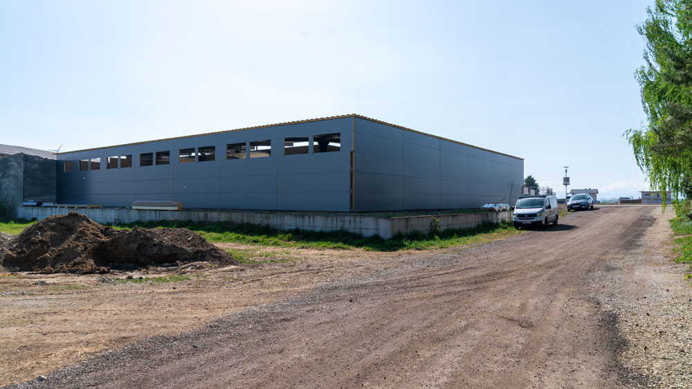Foto Industriegebäude Fessl