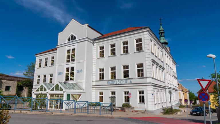 Foto Schulumbau Wölbling